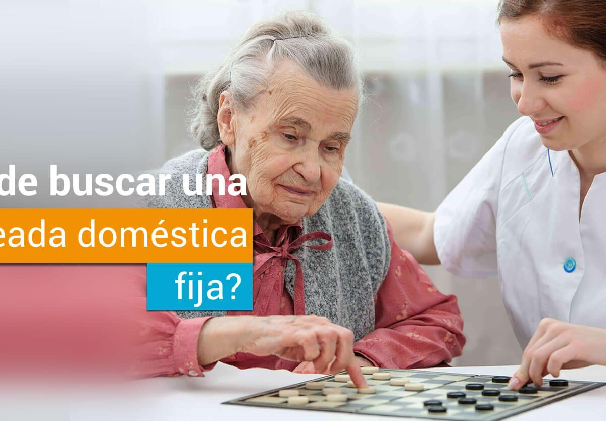¿Donde buscar una empleada doméstica fija?