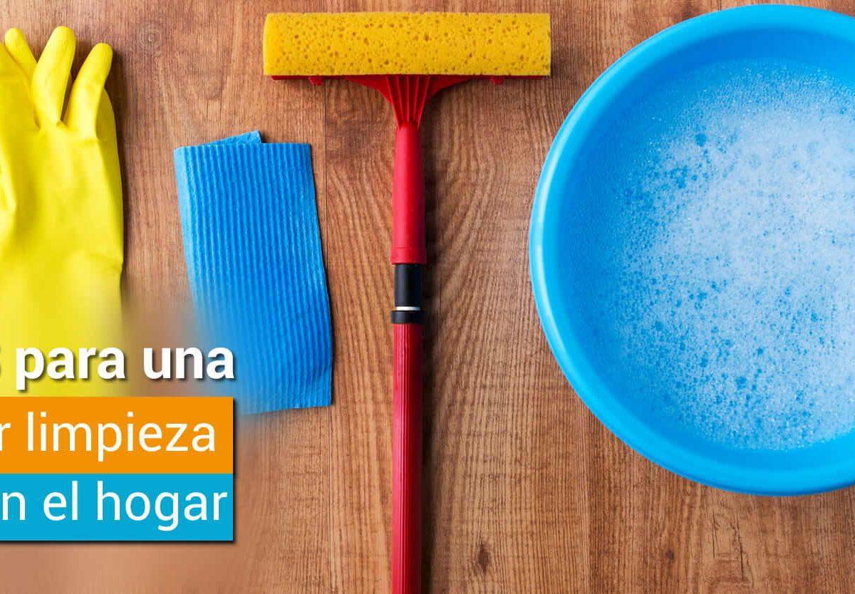 Tips para una mejor limpieza del hogar