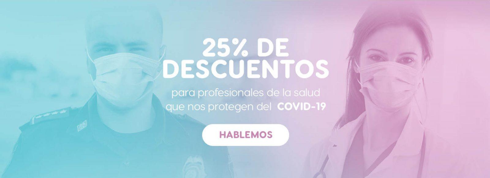 25% de descuentos