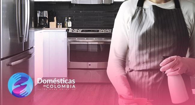 ¿Por qué tener una empleada doméstica en cuarentena?