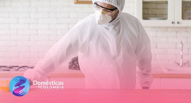 Limpieza y desinfección del hogar en cuarentena